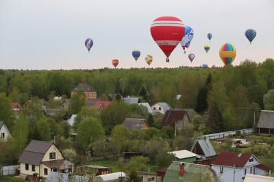 Чемпионат по воздухоплавательному спорту в Дмитрове