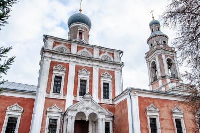Серпухов. Улица Красная гора, Смотровая площадка. Успенская Церковь