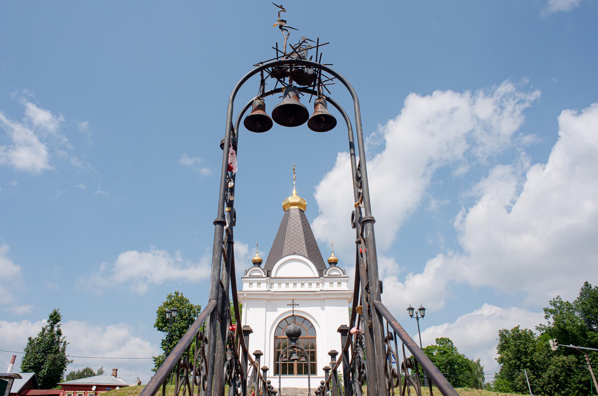 Павловский Посад, Часовня в память 1812 года
