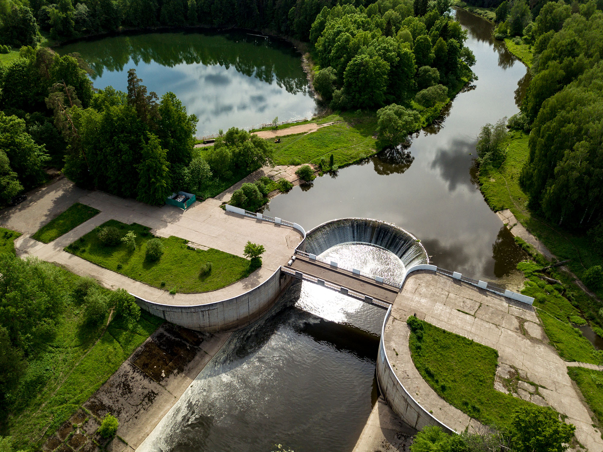 Гидроэлектростанция в селе Ярополец
