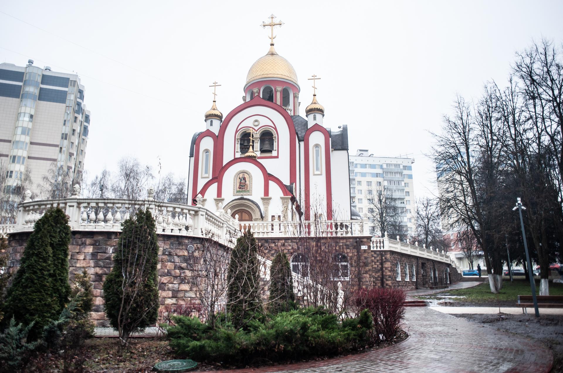 Видное, Храм Великомученика Георгия Победоносца