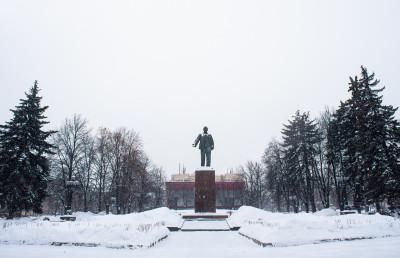 Мытищи, памятник Ленину