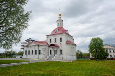 Коломна, Коломенский Кремль, Храм Воскресения Словущего