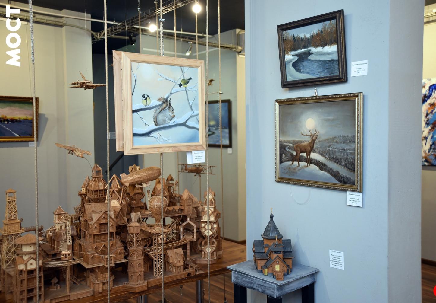 Арт галерея «Мост», «Зимний Салон 2019» & «Бамбук за гранью»