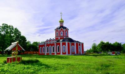 Иоанно-Предтеченское подворье Новоспасского монастыря, Храм Собора Иоанна Предтечи