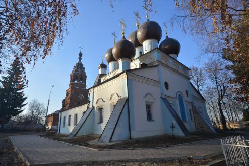 Троицкая церковь в Чашниково