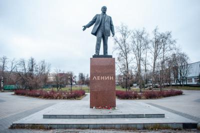 Электросталь, памятник Ленину