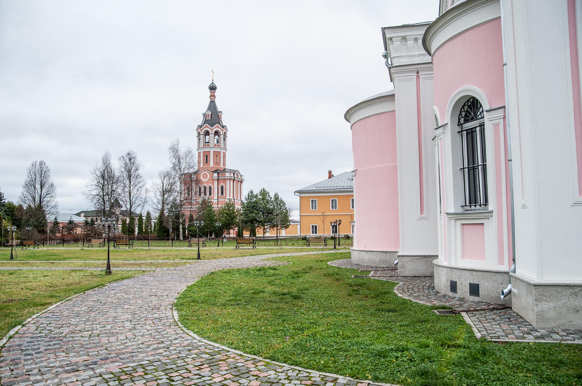 Зосимова пустынь. Троице-Одигитриевский ставропигиальный женский монастырь
