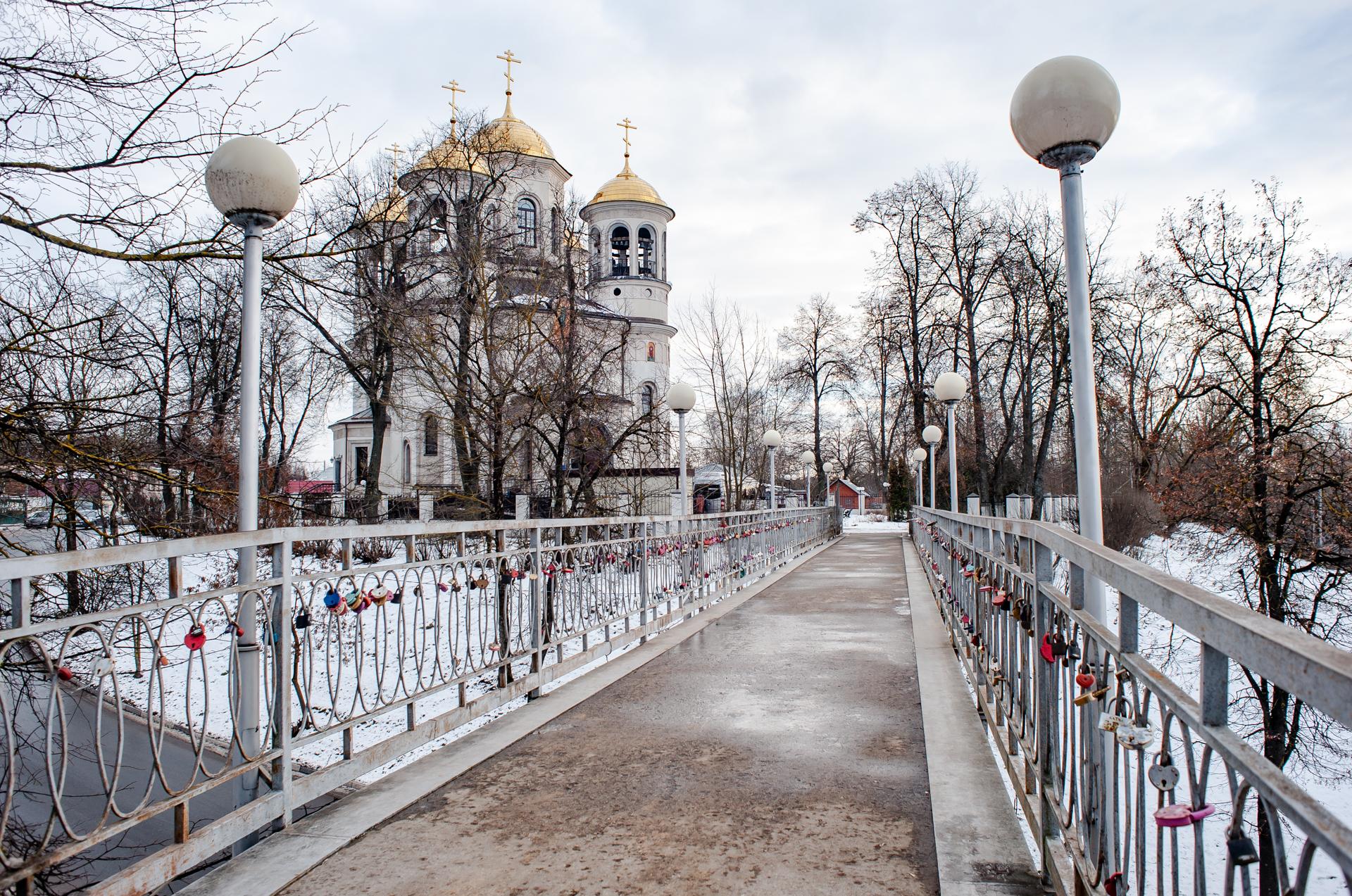 Звенигород, Городской парк, Звенигородское благочиние собор Вознесения Господня