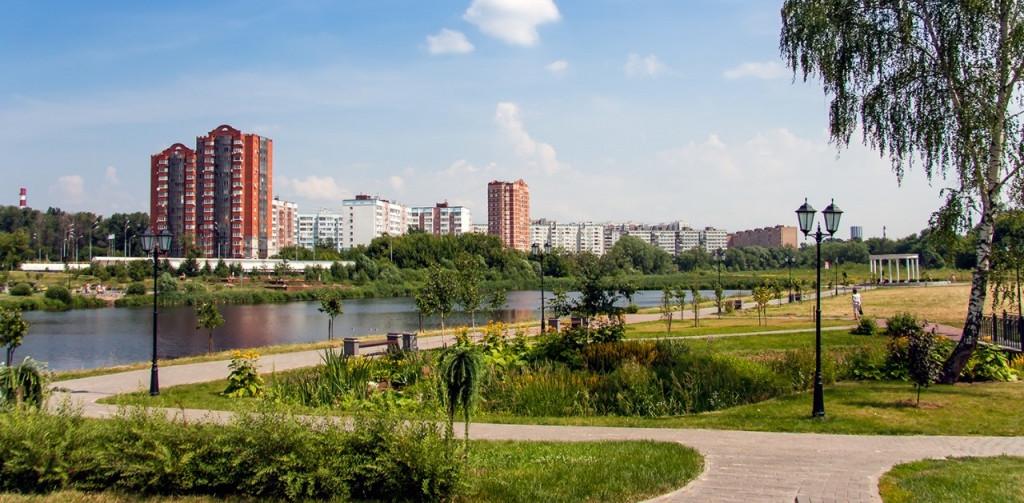 Центральный парк в Мытищах
