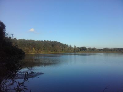 Озеро Глухая Яма, Вид с северного берега