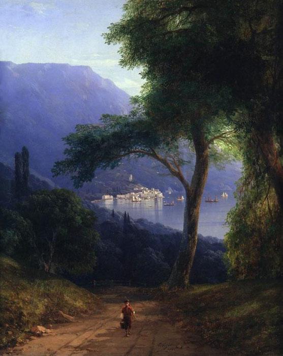 Иван Константинович Айвазовский «Вид из Ливадии» 1861 год