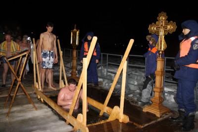 Крещенские купания в Солнечногорске