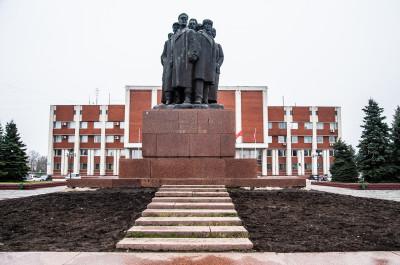 Орехово-Зуево, Октябрьская площадь