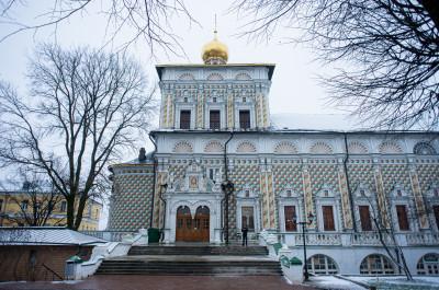 Сергиев Посад, Троице-Сергиева Лавра, Трапезная церковь