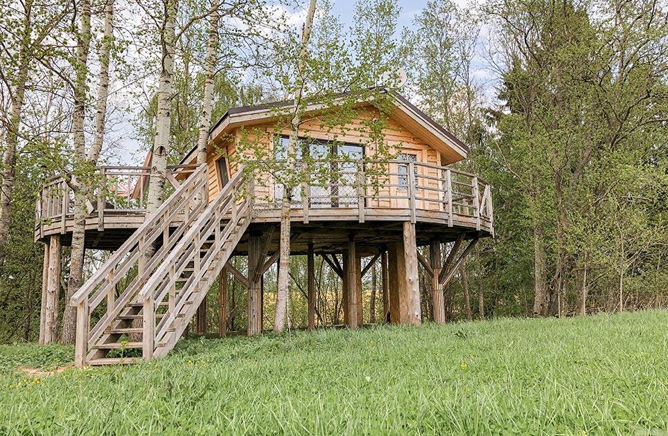 Экоранчо Алексеевка, Малый дом на дереве