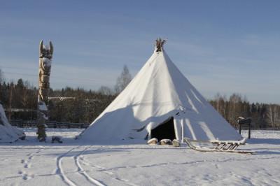 Этнопарк «Кочевник» в Сергиево-Посадском районе