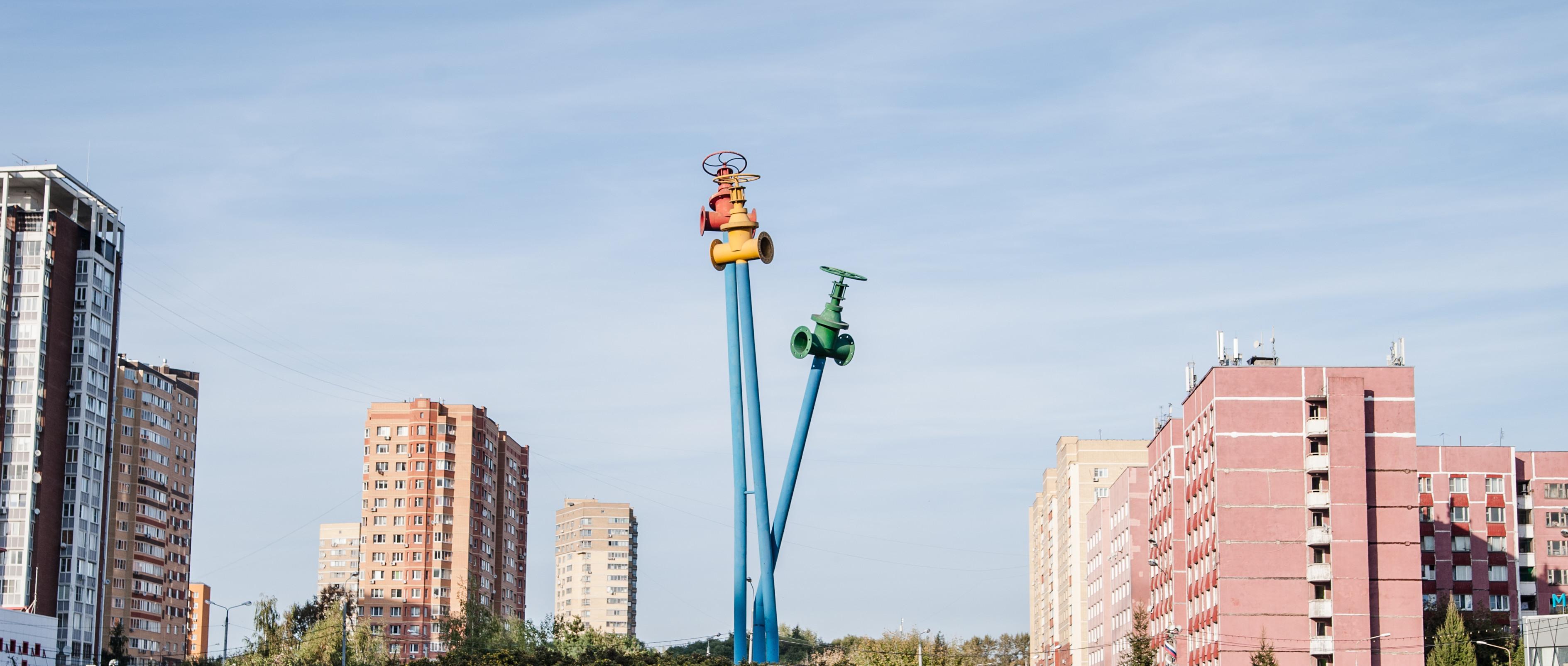 Ярославское направление, Мытищи, монумент в честь 200-летия первго российского водопровода