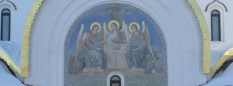 Храм Александра Невского в поселке Княжье озеро