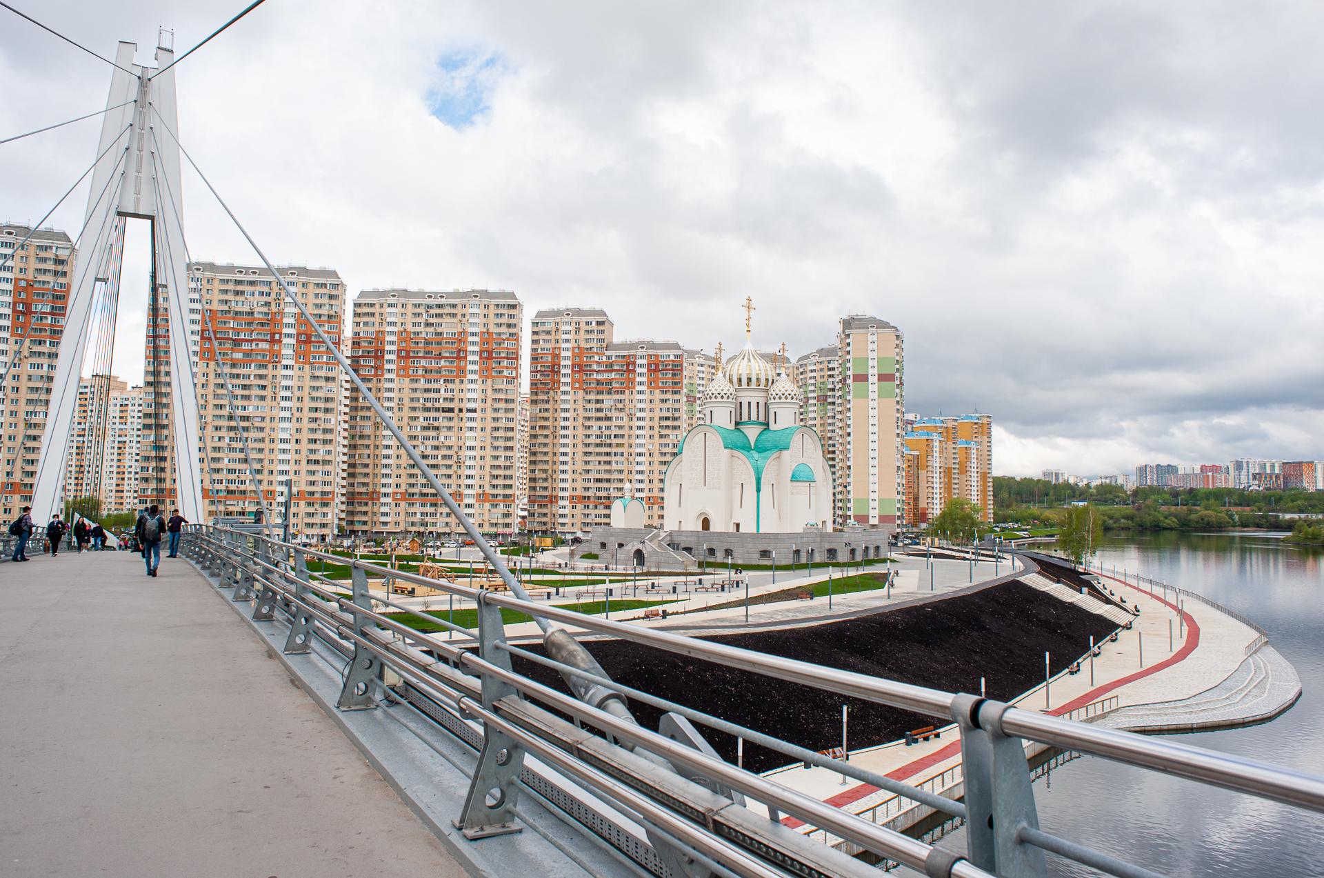 Красногорск, Павшинский мост