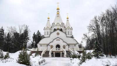 Бутовский полигон, Соборный храм