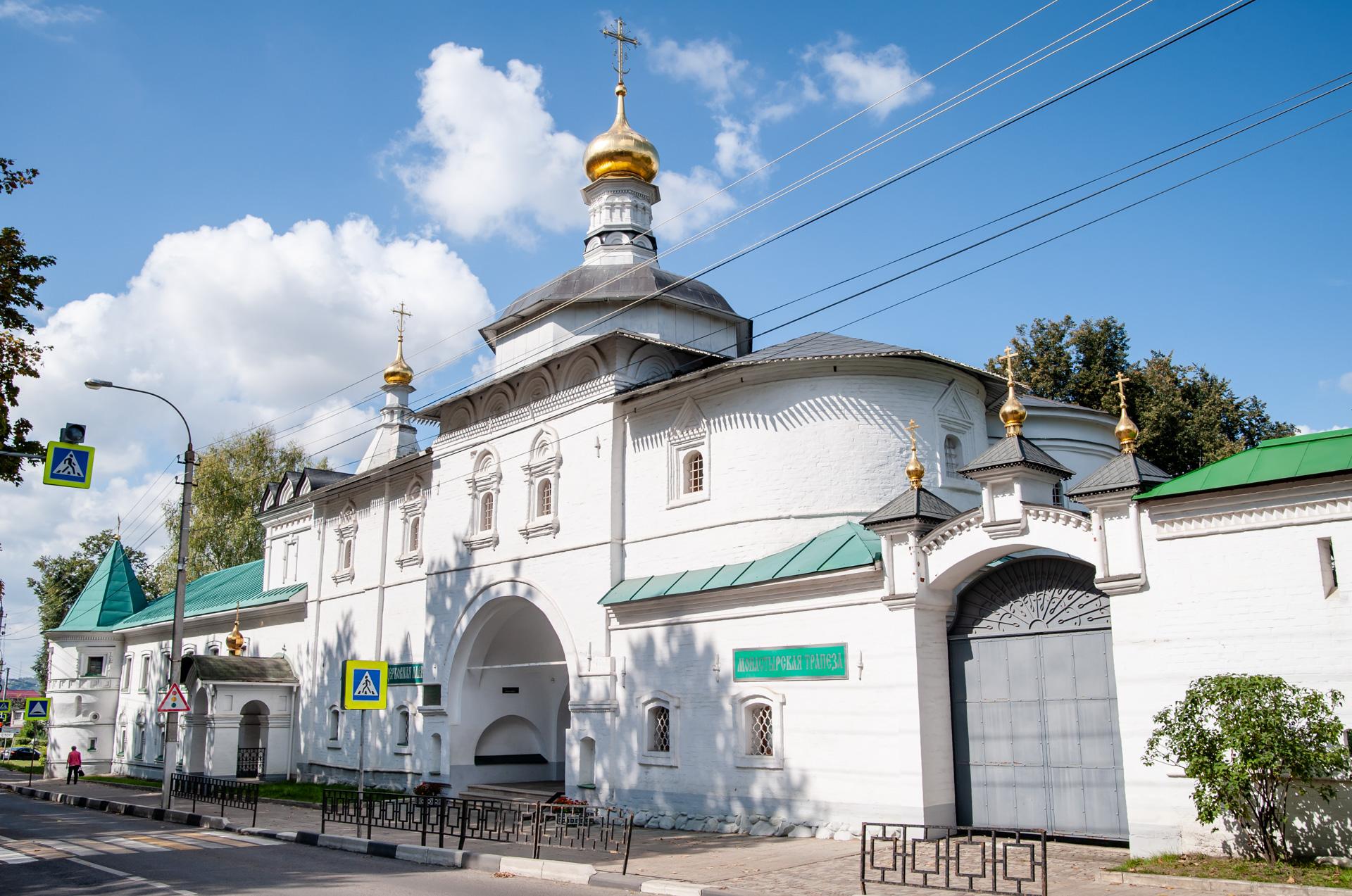 Дмитровское направление. Дмитров. Борисоглебский мужской монастырь