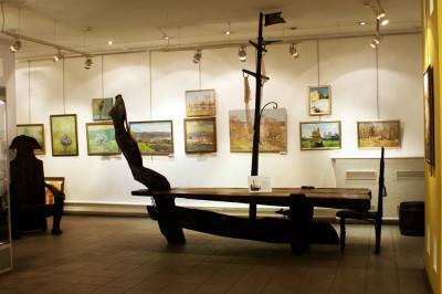 Культурный центр «Лига», Галерея современного искусства