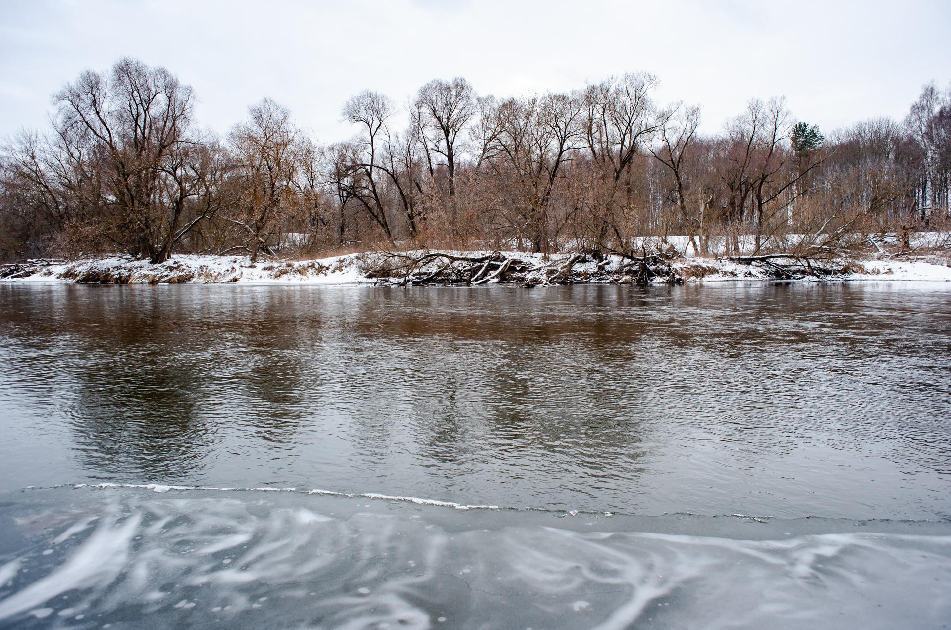 Звенигород, река Москва