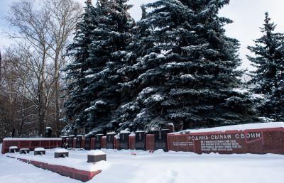 Жуковский, Мемориальное кладбище