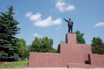 Павловский Посад, памятник Ленину