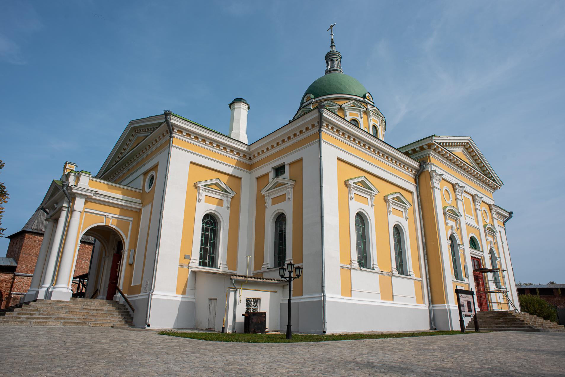 Зарайский кремль, Собор Николая Чудотворца