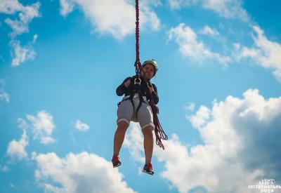 Прыжки с веревкой в Сорочанах