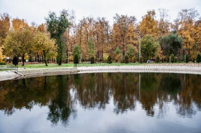 Лобня, городской парк