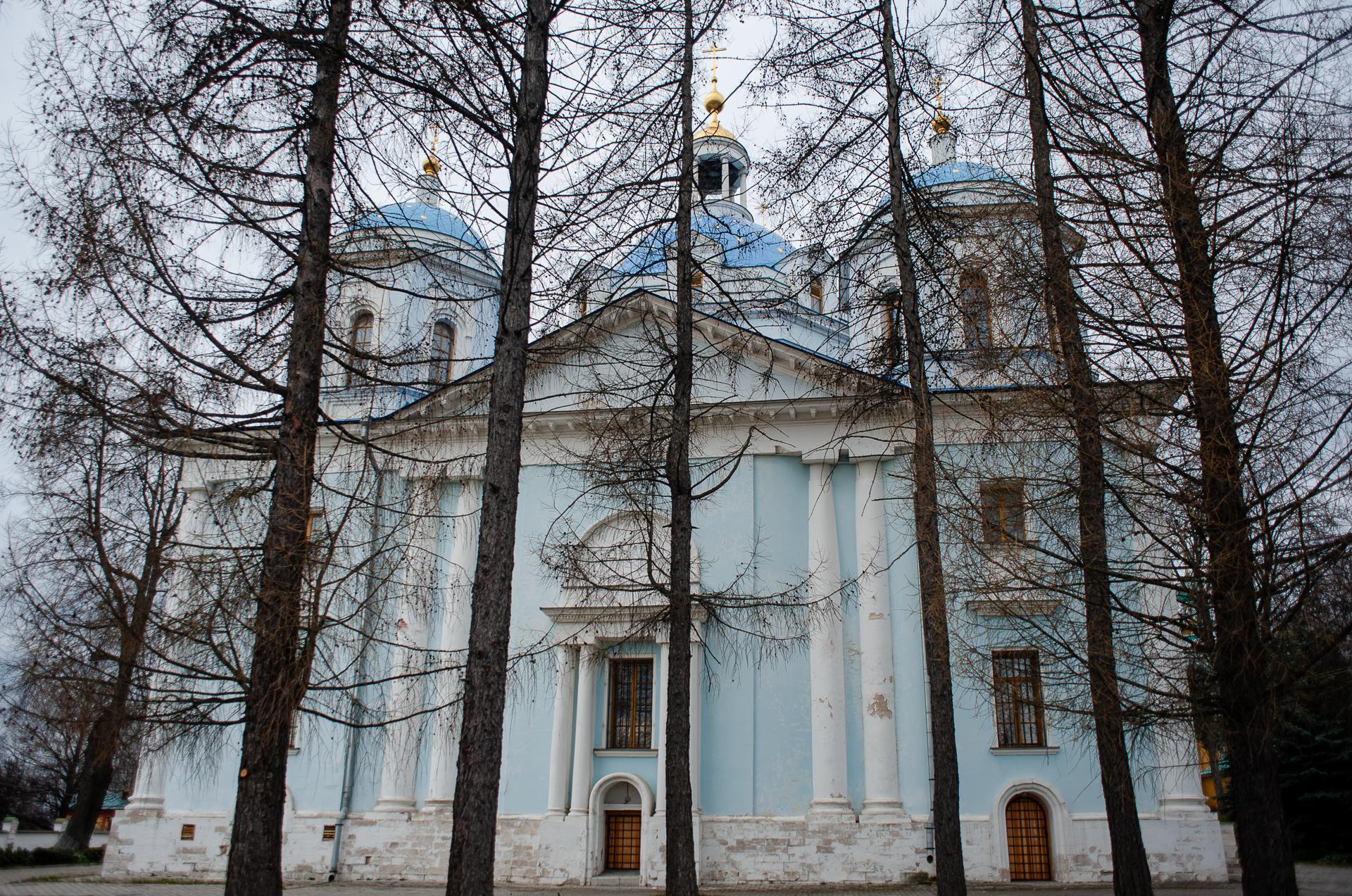 Спасо-Влахернский женский монастырь в Деденево