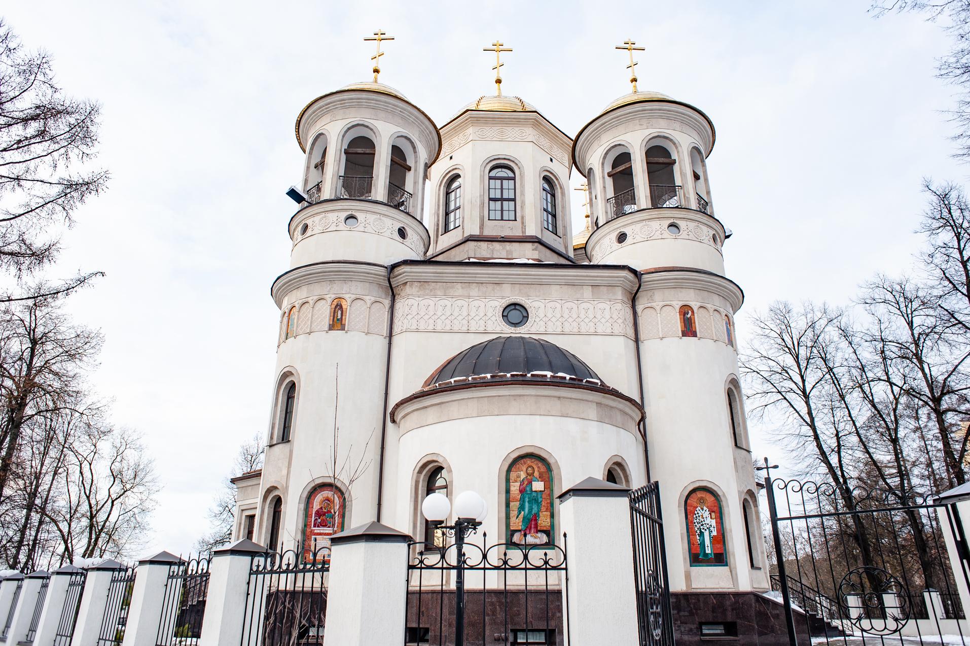 Звенигород, Звенигородское благочиние собор Вознесения Господня