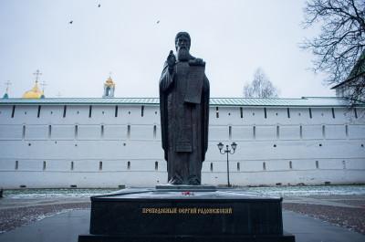 Сергиев Посад, Троице-Сергиева Лавра, преподобный Сергий Радонежский