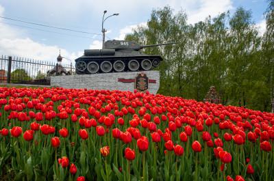Наро-Фоминск,  памятник ВОВ (Танк)