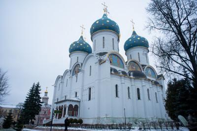 Сергиев Посад, Троице-Сергиева Лавра, Успенский собор