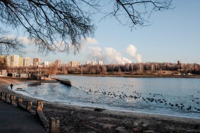 Химки, парк культуры и отдыха имени Л.Н. Толстого, канал имени Москвы