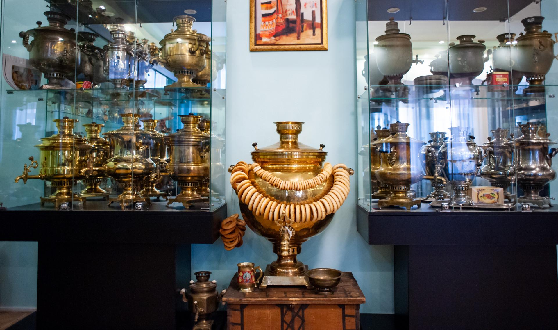 Ивантеевка, Музей русских самоваров
