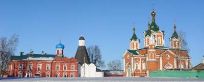 Успенский Брусенский женский монастырь в Коломне