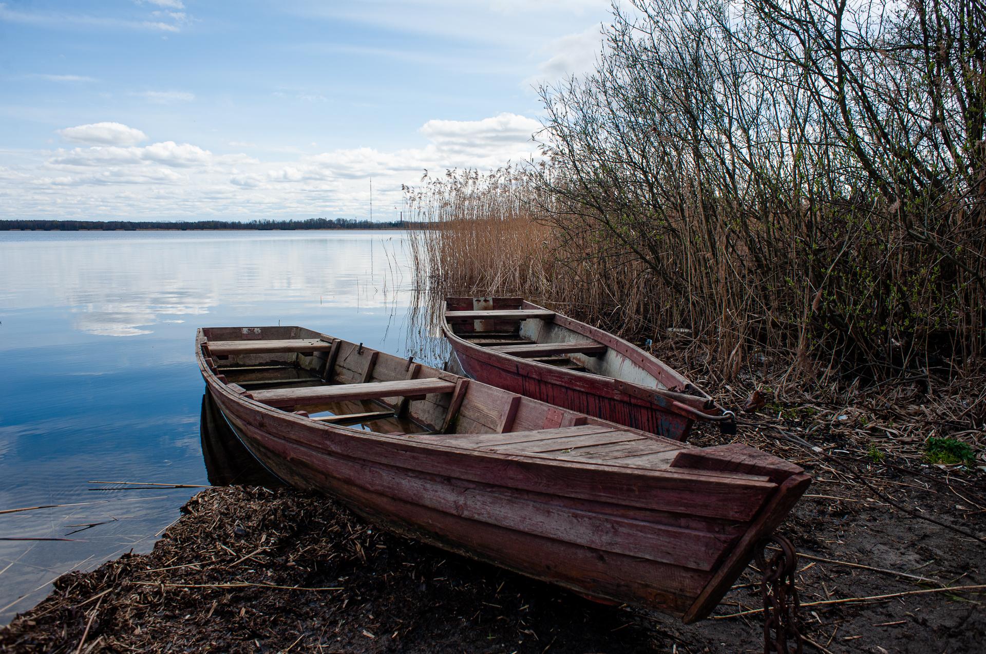 Шатура, озеро Муромское