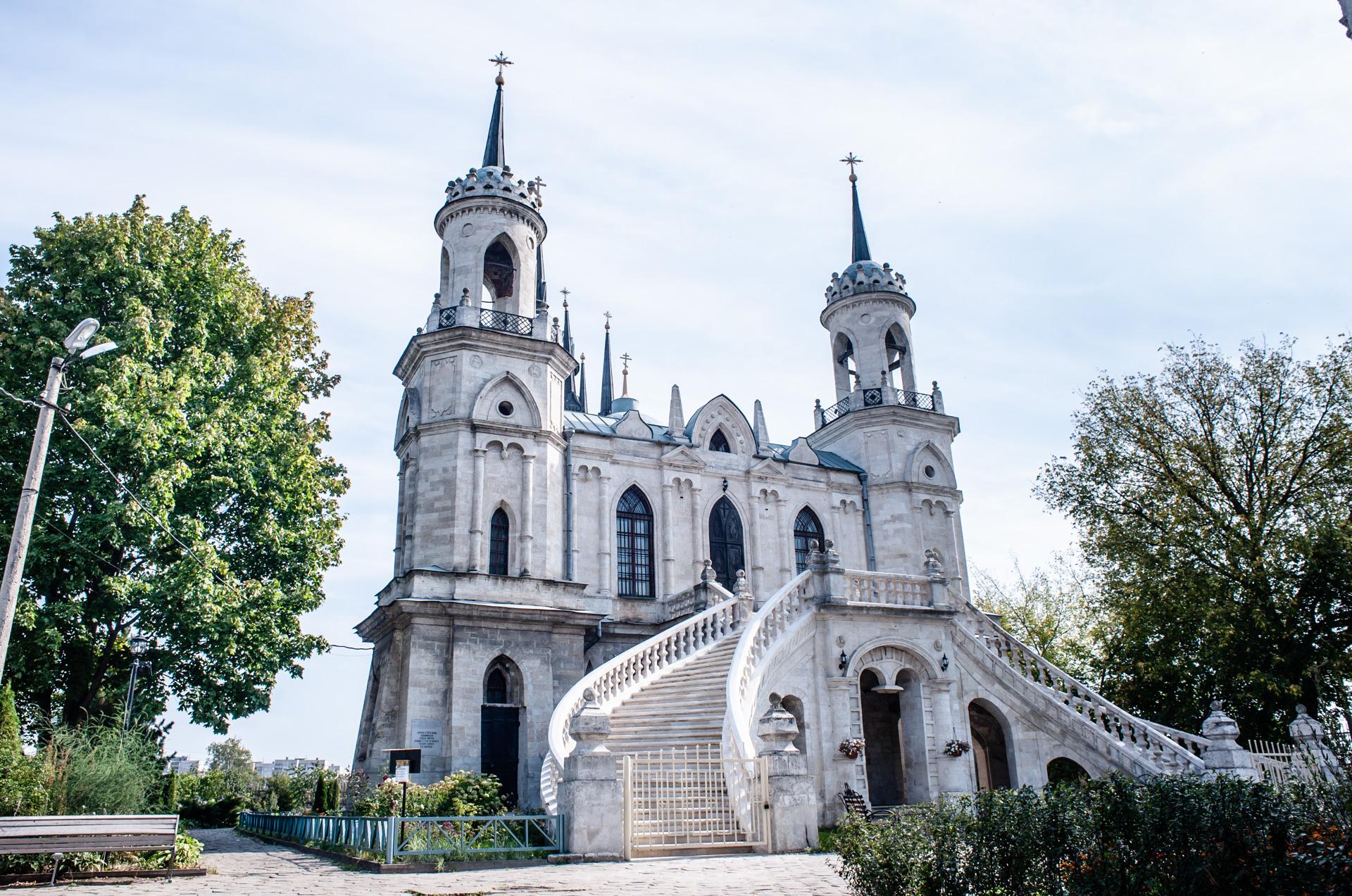 Храм Владимирской Иконы Божьей Матери в селе Быково в Жуковском