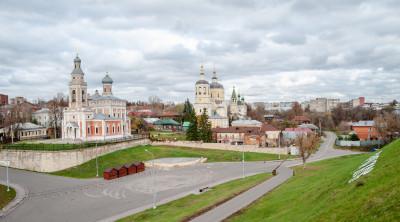 Серпухов. Улица Красная гора, Смотровая площадка