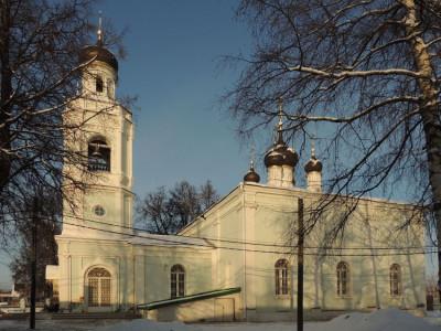 Церковь Троицы Живоначальной в Болтине