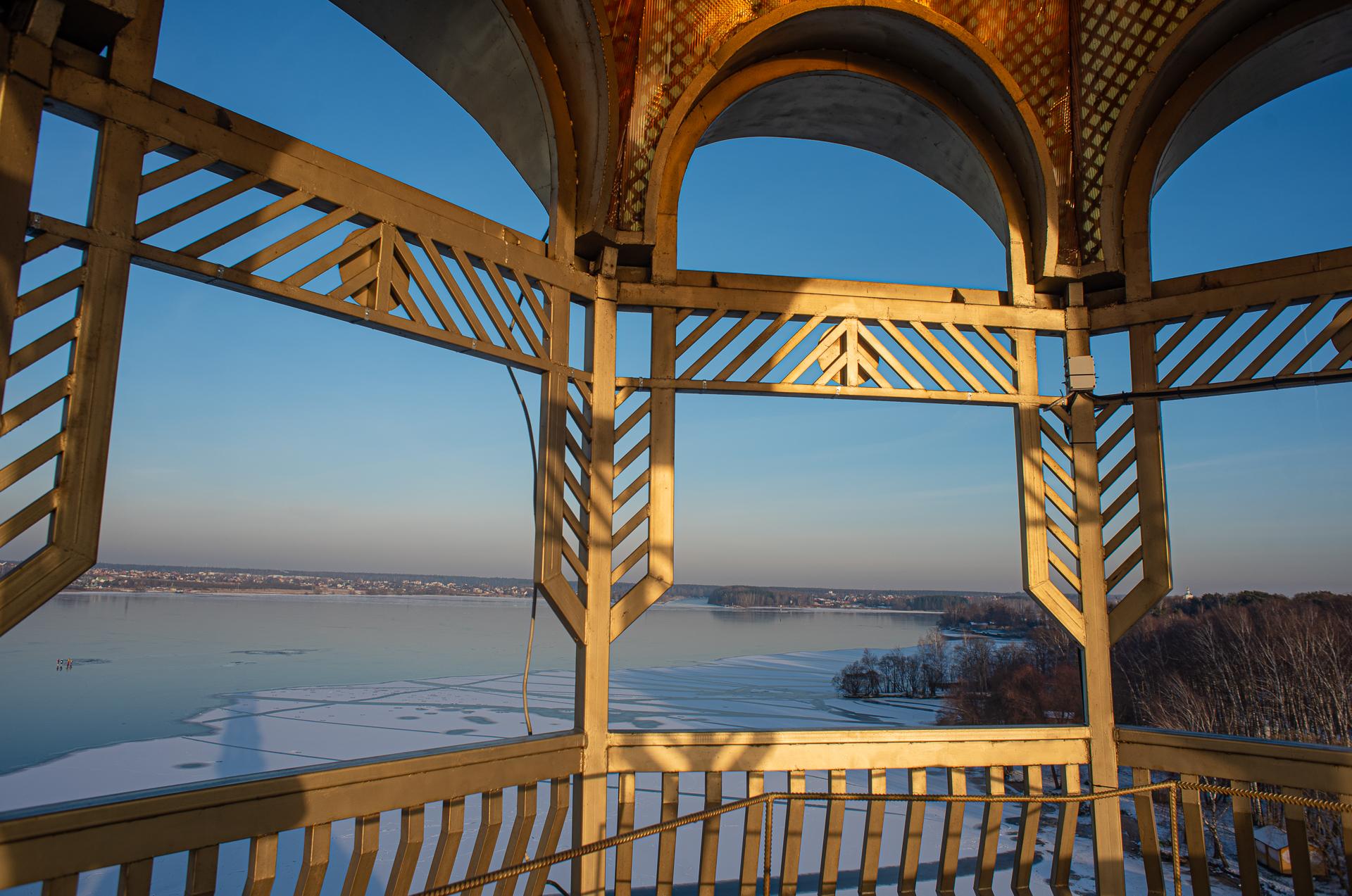 База отдыха Троицкое, Смотровая Башня-маяк