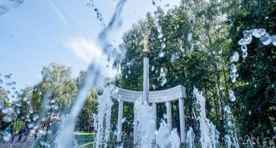 Парк Березовая роща в Дмитрове