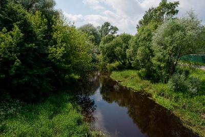 Павловский Посад, река Вохонка