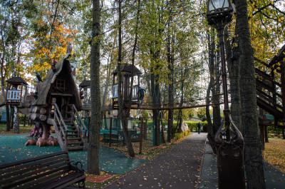 Совхоз им Ленина, парк Лукоморье
