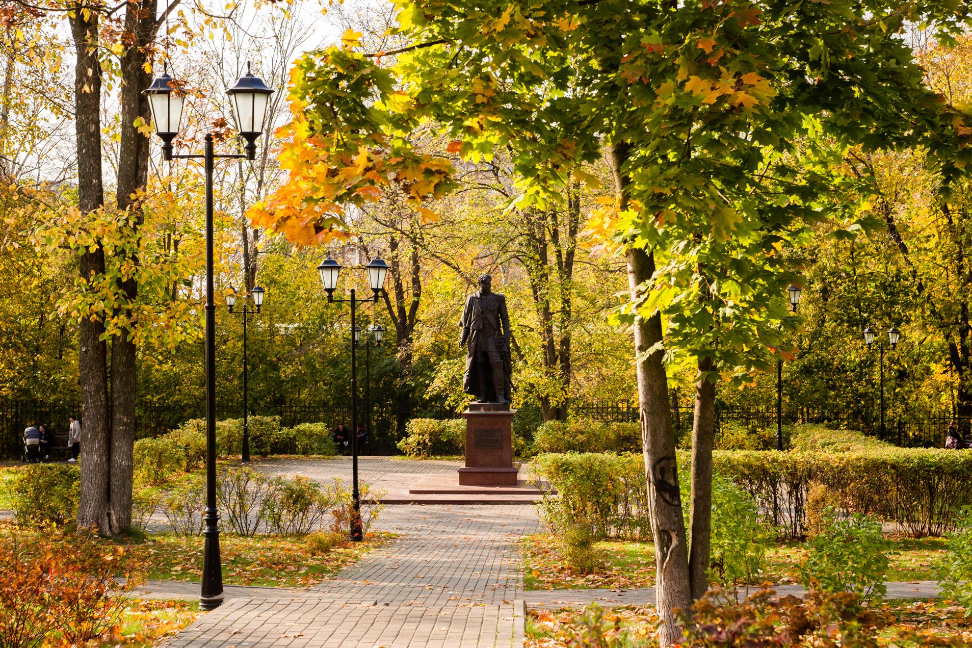 Лыткарино, Усадьба «Лыткарино» (Чернышевых), памятник Чернышеву